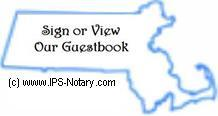 Click here to sign or view our guestbook